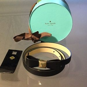 New Kate spade belt with box and tags
